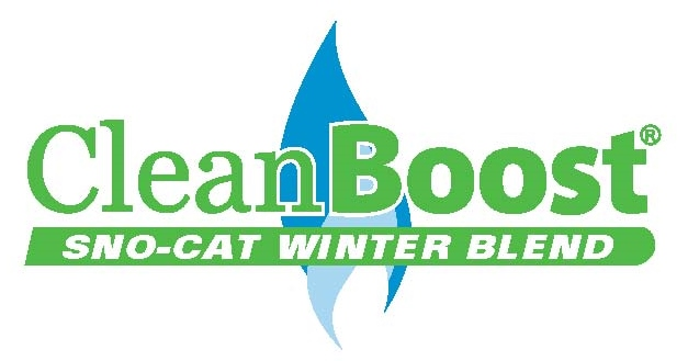 CleanBoost Logo - Sno-Cat Winter Blend