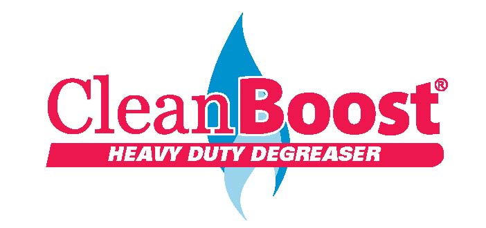 CleanBoost Logo - HD Degreaser
