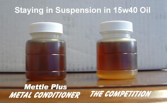 Mettle Plus in Suspension Oil